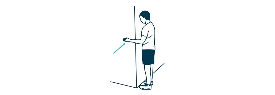 shoulder internal rotation assisted